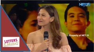 """Janine Teñoso Sings Sid & Aya Movie Themesong """"Di Na Muli"""" (NET25 LETTERS AND MUSIC)"""
