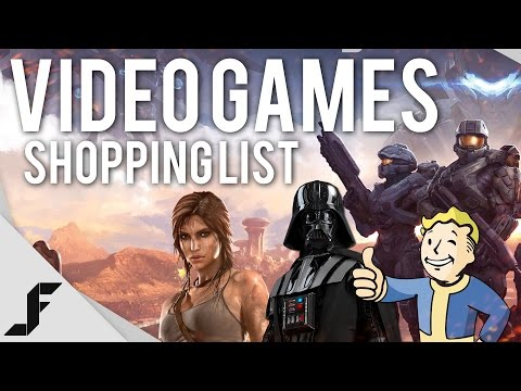 Video Games Shopping List - Fall 2015