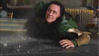 The Avengers - Hulk Threw it on the Ground!!!