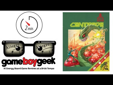 The Game Boy Geek's (Allegro 2-min) Review of Centipede
