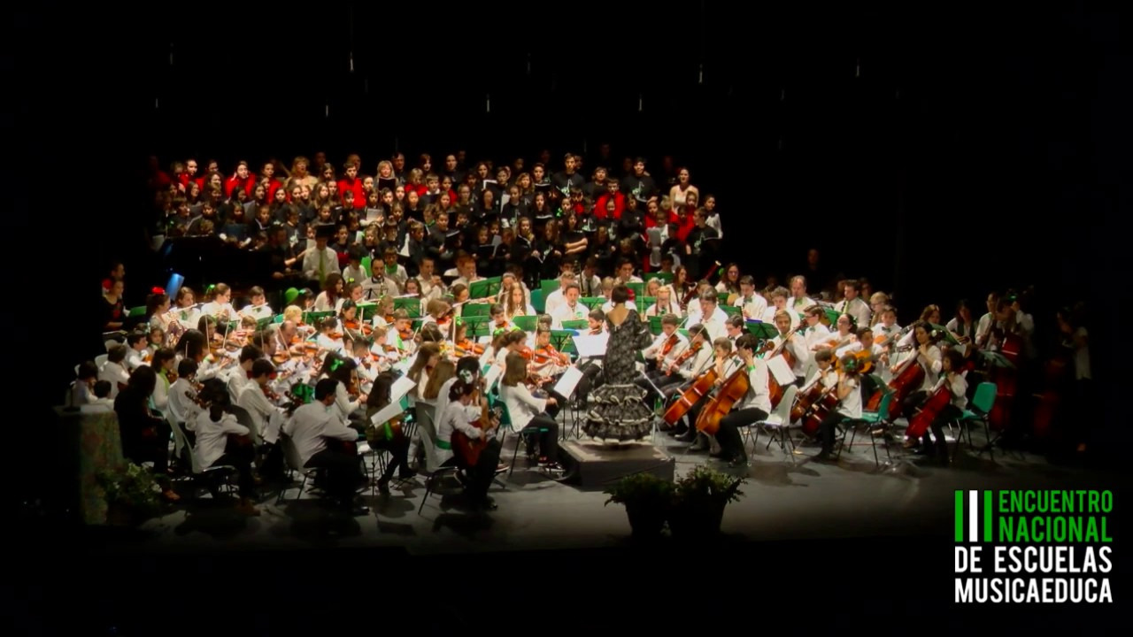 Sonidos de Andalucía, Orobroy, Volando Voy - III Encuentro de Escuelas Músicaeduca