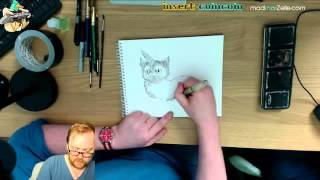 REPLAY Session Dessin - Boulet sur Twitch