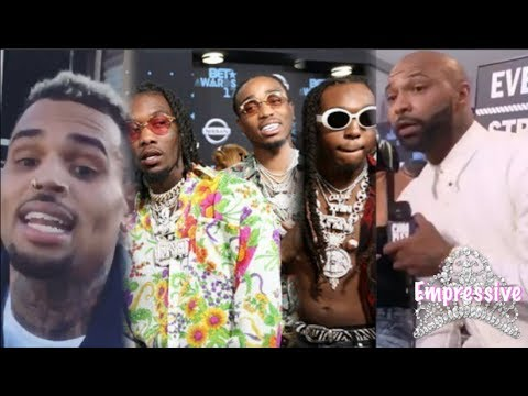 Why Migos almost fought Chris Brown and Joe Budden at the BET Awards (2017)