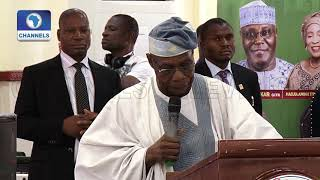 'Atiku Has Learnt His Lessons,Vote Him For The Better', Obasanjo Tells Nigerians