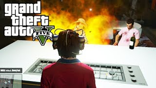GTA 5 Online Funny Independence Day Sticky Bomb Update, Exploding Marijuana and Exploding Strippers