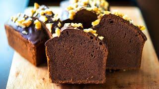 ASMRチョコレート米粉パウンドケーキ グルテンフリー