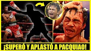 El boxeador que hizo llorar a Manny Pacquiao