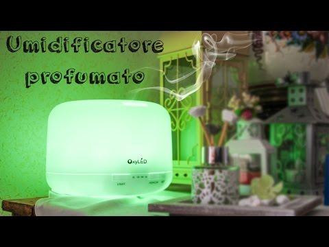 Diffusore di aromi profumato e colorato [OxyLED]