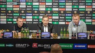 12. Spieltag | SGD - SVS | Pressekonferenz nach dem Spiel