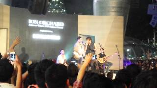 Boys Like Girls - She's Got A Boyfriend Now (Acoustic Live) at ION Orchard Singapore