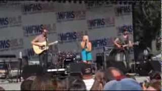 "Danielle Bradbery ""A Little Bit Stronger"" Indiana State fair"