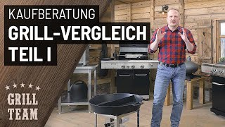 Großer Gasgrill Vergleich | Teil 1 | Material- und Ausstattungstipps für BBQ-Grillstationen