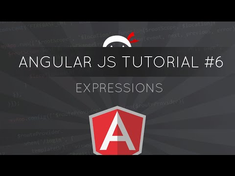 AngularJS Tutorial #6 - Expressions
