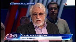 Славянский мир под прицелом. Право голоса