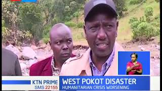 DP Ruto lands in West Pokot despite reports of bad weather that hindered the landing of CS Matiangi