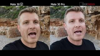 Huawei Mate 30 vs Huawei Mate 30 Pro Camera Comparison