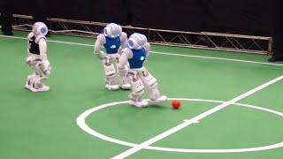 Ein Roboter-Duell