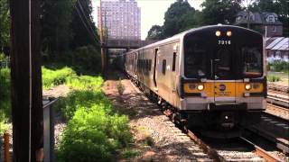 preview picture of video 'Railfanning at Kew Gardens Part 1'