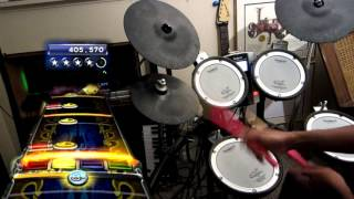 [250 Subs] 1st Ever Through the Fire and Flames Expert Pro Drums 100% FC
