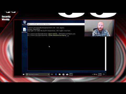 Password Spraying Windows Active Directory Accounts – Tradecraft Security Weekly #5