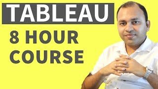Tableau Complete Tutorial for Beginners [Full Course] 2019 | Tableau Tutorial from Scratch