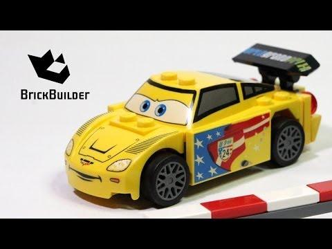 Vidéo LEGO Cars 9481 : Jeff Gorvette