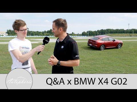 2018 BMW X4 (G02): Eure Fragen - Product Manager Roland Meier und Fabian antworten - Autophorie