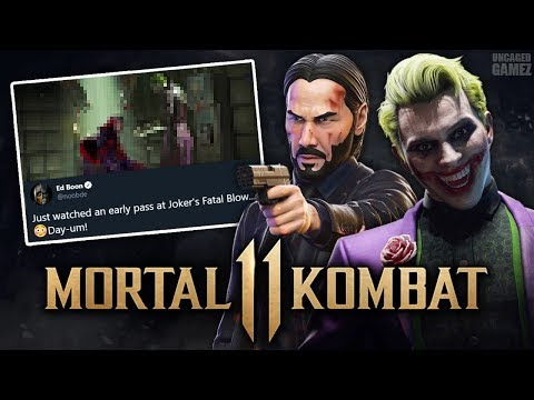 Mortal Kombat 11 - BIG Surprise Coming, Joker Fatal Teased, & MORE!!