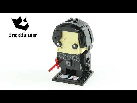 Vidéo LEGO BrickHeadz 41603 : Kylo Ren