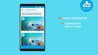 K&H mobiltárca – kártya aktiválás
