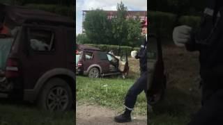 Страшная авария в поселке Интернациональный.
