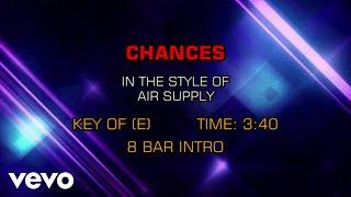 Air Supply - Chances (Karaoke)