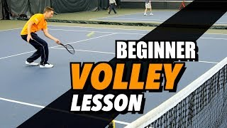 Ultimate Tennis Volley Lesson   Drills And Tips For Beginners