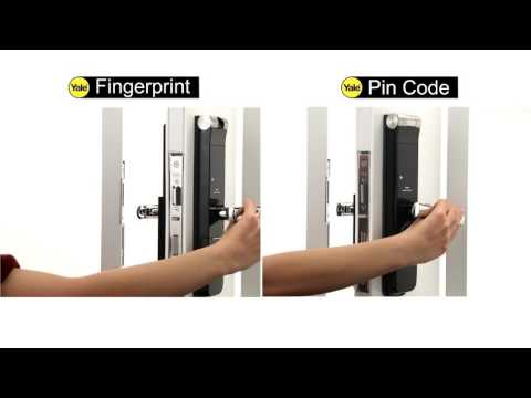 YALE YMG40 Push Pull Digital Door Lock