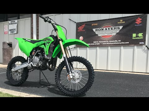2021 Kawasaki KX 100 in Greenville, North Carolina - Video 1