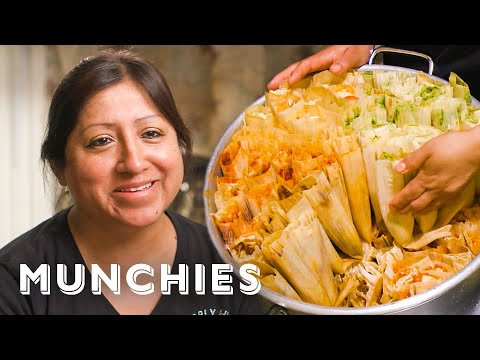 The Dollar Tamale Queen of New York - Street Food Icons