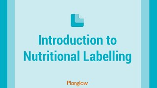 Introduction to Nutritional Labelling thumbnail