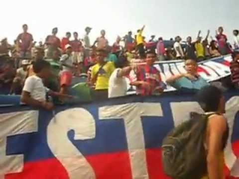 """""""Garra Samaria 2012 - Samario Soy"""" Barra: Garra Samaria Norte • Club: Unión Magdalena"""