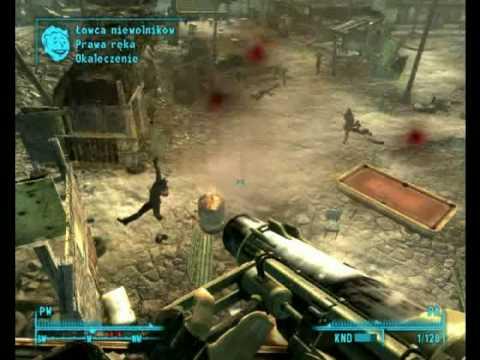 Kominek gra w Fallout 3 Paradise Falls