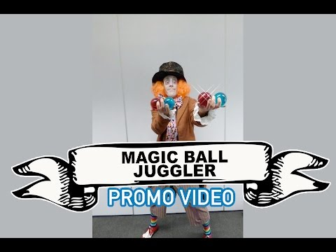 Magic Ball Juggler Video