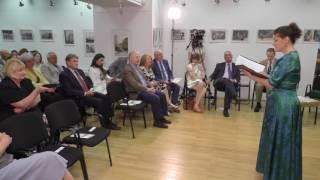 The Embassy of Ireland in Bucharest - Bloomsday 2017