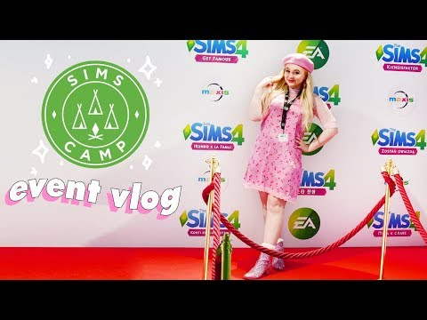 💕💚 MY TRIP TO SIMS CAMP IN LONDON!! | AD 💚💕