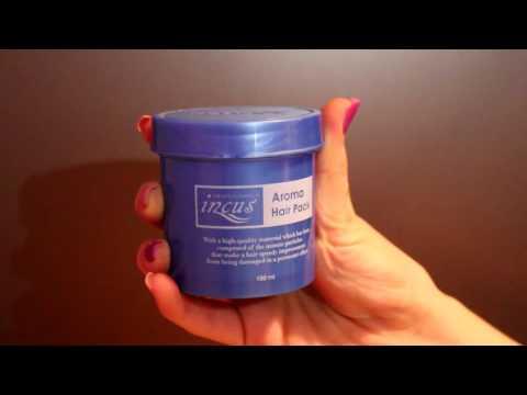 Ampoule hair oil