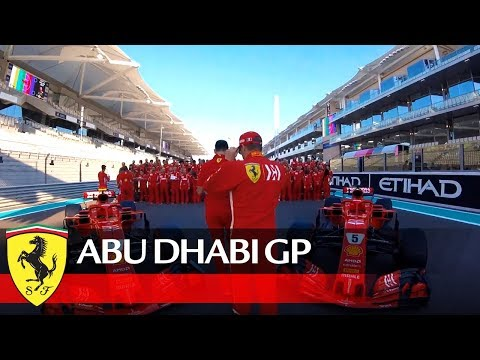 Abu Dhabi Grand Prix - Picture in the making