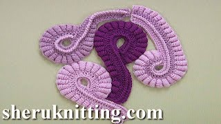 How To Crochet Freeform Element Tutorial 26