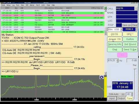 SIM-PSK31. SIM-BPSK31. Digital mode SIM-PSK31. SIM PSK.