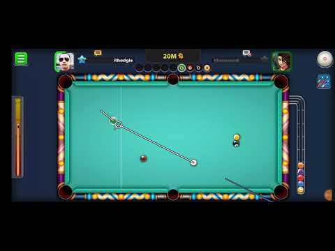 9 Ball Placing using Phillipines Cue in 8 Ball Pool by Miniclip