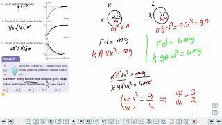 Eğitim Vadisi 11.Sınıf Fizik 7.Föy Bir Boyutta Sabit İvmeli Hareket 2 (Limit Hız Kavramı) Konu Anlatım Videoları