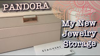 Unboxing New PANDORA Jewelry Storage 💗 | My STACKERS