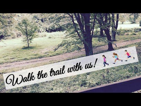 Walking through the wyomissing trail! 🌲🌳